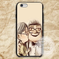 Disney Pixar Carl and Ellie iPhone 4/4S, 5/5S, 5C Series, Samsung Galaxy S3, Samsung Galaxy S4, Samsung Galaxy S5 - Hard Plastic, Rubber Case