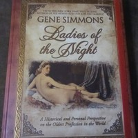 """""""Ladies Of The Night"""" Gene Simmons Hand Signed Hard Cover Coffee Book"""