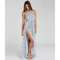 SOUNDS OF THE SEA MAXI DRESS