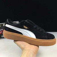 Puma Seudu Platform Rihanna Creepers Fashion Women's Suede Shoes G-XYXY-FTQ
