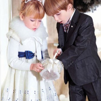 princess veil children Dress