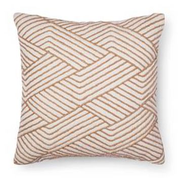 Cream Geometric Throw Pillow - Threshold™ : Target