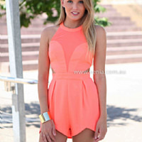 SUMMER OF LOVE PLAYSUIT , DRESSES, TOPS, BOTTOMS, JACKETS & JUMPERS, ACCESSORIES, 50% OFF SALE, PRE ORDER, NEW ARRIVALS, PLAYSUIT, COLOUR, GIFT VOUCHER,,Pink,LACE,CUT OUT,BACKLESS,JUMPSUIT,SLEEVELESS,MINI Australia, Queensland, Brisbane