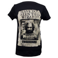 Harry Potter WANTED Azkaban Women's Fitted T-Shirt: WBshop.com