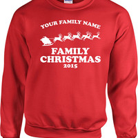 Matching Family Christmas Hoodie Sweater Holiday Gift Ideas Christmas Clothes Holiday Presents Christmas Pullover Custom Xmas Gifts - SA520