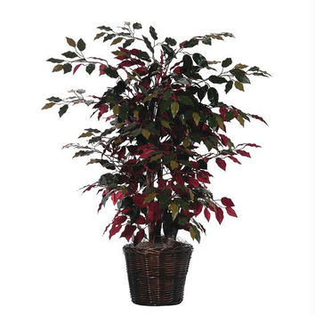 Red Capensia Bush - Artificial