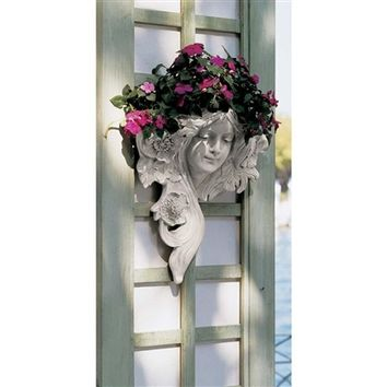SheilaShrubs.com: French Greenman Wall Sculpture - Le Etoile NG302815 by Design Toscano: Planters