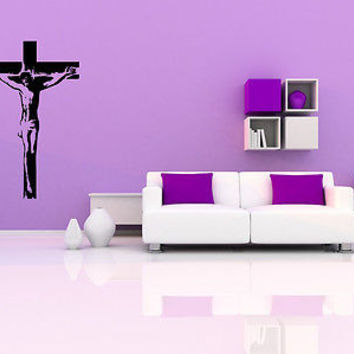 Christianity Wall Decal Jesus Christ Son of God Prayer Wall Sticker Decal 3699