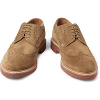 J.Crew Kenton Suede Brogue | MR PORTER
