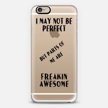 Freakin Awesome iPhone 6 case by Alice Gosling | Casetify