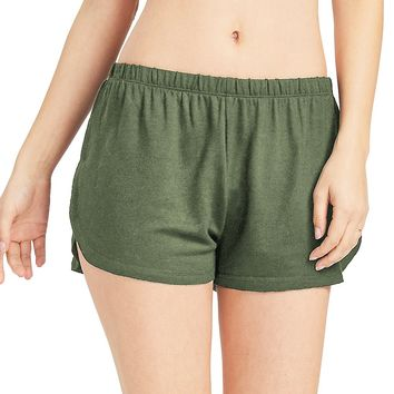 Plush Lounge Shorts