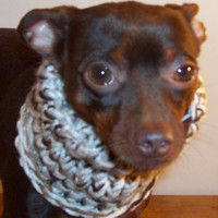 Small Knitted Dog Hoodie by forpawsandhome on Etsy