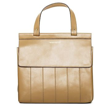 Pelican Tan Leather Satchel Bag