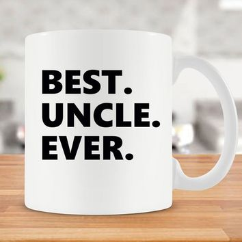 Mug For Uncle Family Gift For Uncle Mug New Uncle Gift Uncle Coffee Mug Uncle Coffee Cup Uncle To Be Best Uncle Ever Ceramic Mug - SA192