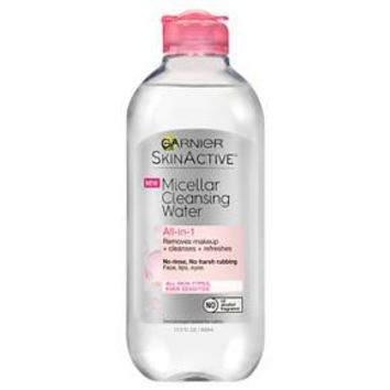 Garnier SkinActive Micellar Cleansing Water All-in-1 Cleanser & Makeup Remover All Skin Types - 13.5 fl oz