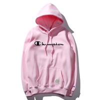 Champion Women Men Fashion Casual Top Sweater Pullover Hoodie-4