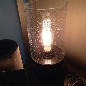 Threshold™ Seeded Glass Edison Uplight