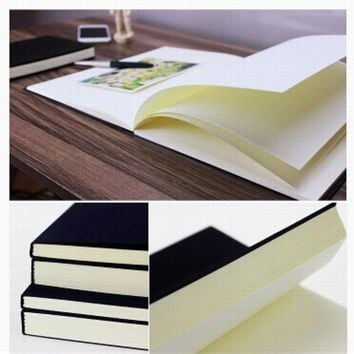 ICIK272 Free Shipping Vintage Dowling Paper Blank Pages Sketch Book Stationery  Diary Book Student Gift Notebook