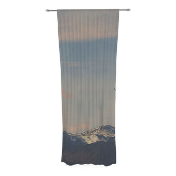"Robin Dickinson ""Majesty"" Nature Landscape Decorative Sheer Curtain"