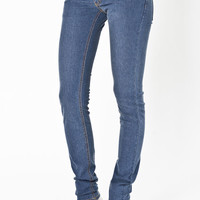 Cheap Monday Narrow Very Stretched Wash Jeans