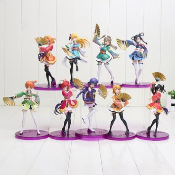 15-19cm Anime Love Live Figure School Idol Project PVC Action Figures Toys Honoka Kousaka Project Action Figure Toy