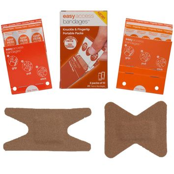Adventure Medical Easy Access Bandages - Fabric - Knuckle & Fingertip - 20 Count [0095-2001]