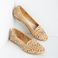 ModCloth Menswear Inspired Catches My Eye Flat