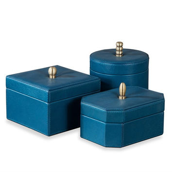 Avery Leather Boxes