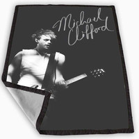 Michael Clifford 5 Seconds Of Summer Blanket for Kids Blanket, Fleece Blanket Cute and Awesome Blanket for your bedding, Blanket fleece **