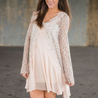 Queen Of Posh Tunic, Cream