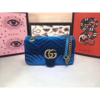 Gucci Women Leather Multicolor Tote Handbag Shoulder Bag Set