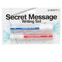 Secret Message Writing Set - Invisible Ink Pens Set of 2