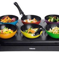 Individual Dinner Party Sets - The Mini-Woks are an Entertaining Fiasco Waiting to Happen