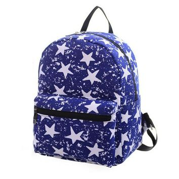New Fashion Women Backpack Canvas Woman Printing Backpack High Quality Ladies School Backpack Women Shoulder Bags Mochila