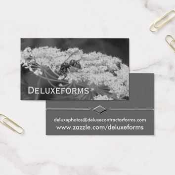 Wild Bee Flower Business Card