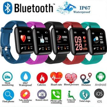 Bluetooth Fitness Smart Bracelet Smart Watch