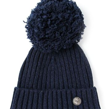 Barrie ribbed knit beanie