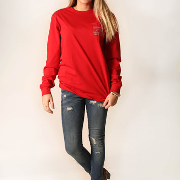 Thirty A Threads- seas'n greetings long sleeve