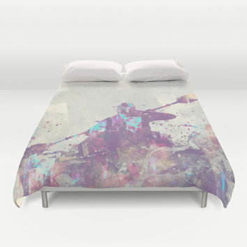 Explorers II Duvet Cover by HappyMelvin   Society6