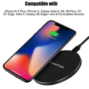 Wireless Charger For iPhone X Phone