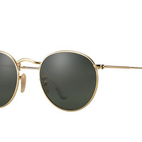 Ray-Ban ROUND METAL Gold, Polarized Lenses - RB3447 | Ray-Ban® USA
