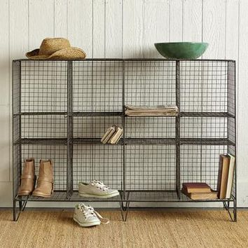 STOREWELL LOW SHELF STORAGE SHELVES                       | Robert Redford's Sundance Catalog