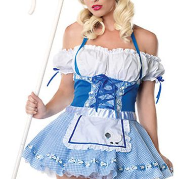Atomic Little Blue Bo Peep Inspired Costume