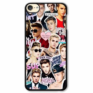 Justin Bieber Collage iPod Touch 6 Case