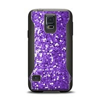The Purple Shaded Sequence Samsung Galaxy S5 Otterbox Commuter Case Skin Set