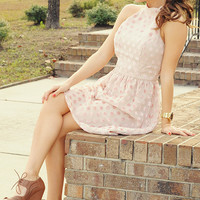 ARK & CO: Make A First Impression Dress: Pink