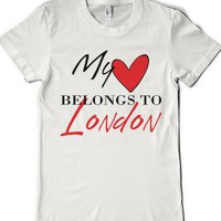 London Hearts-Female White T-Shirt