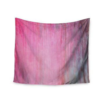 "Iris Lehnhardt ""Color Wash Pink"" Blush Paint Wall Tapestry"