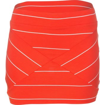 Rip Curl Borderline Skirt - Women's Red,