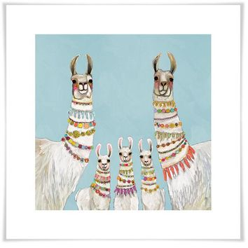 Necklaces - Sky Blue Wall Art